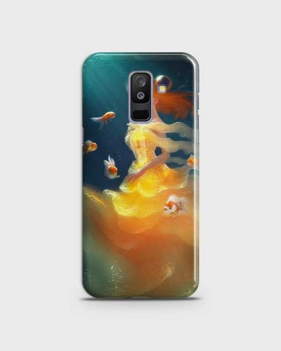 Cover For Samsung A9 Star Lite Hard Mermaid Style Girl -1cover2823