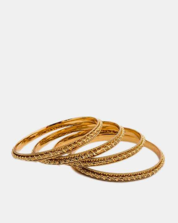 24k Gold Plated Bangles