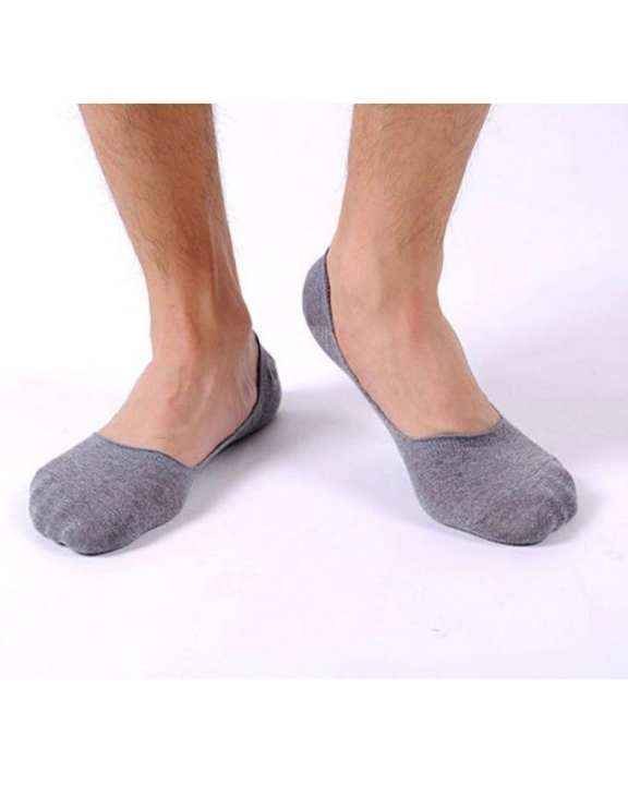 Pack of 2 Pairs - Shallow Mouth Cotton Slip Socks
