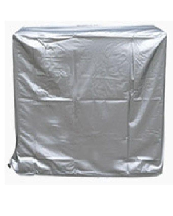 Air Conditioner Dust Cover For Indoor & Outdoor Unit - 1.5 Ton - Silver