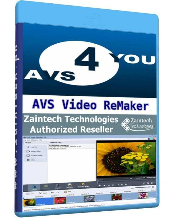 AVS Video ReMaker - 1 PC Lifetime License