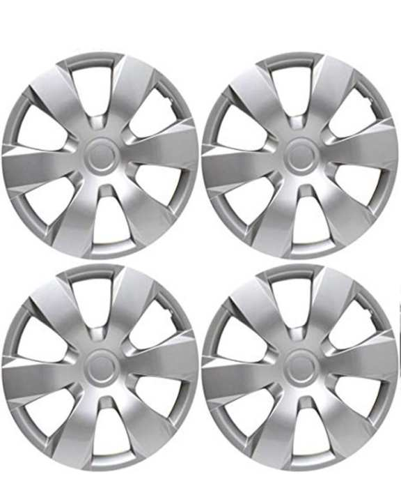 Wheel Cup 4 PCs 12 Inch - Sliver