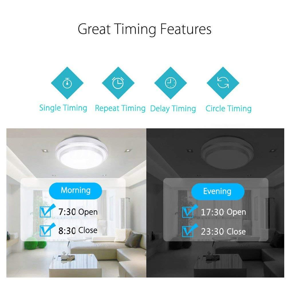 Home Automation - Touch Wi-Fi Smart Switch Wireless Works with Alexa