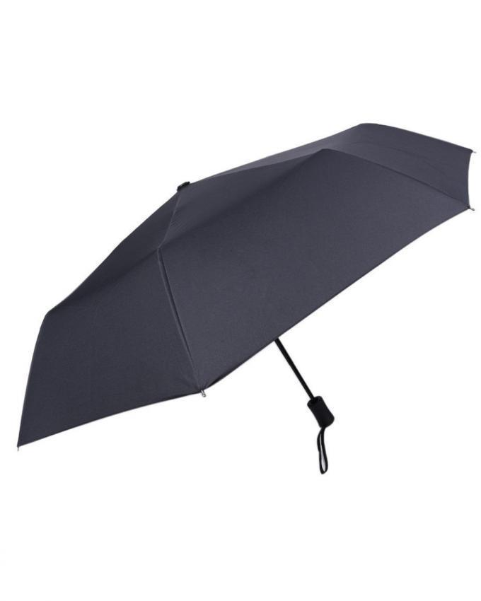 Folding Handle Umbrella - Black