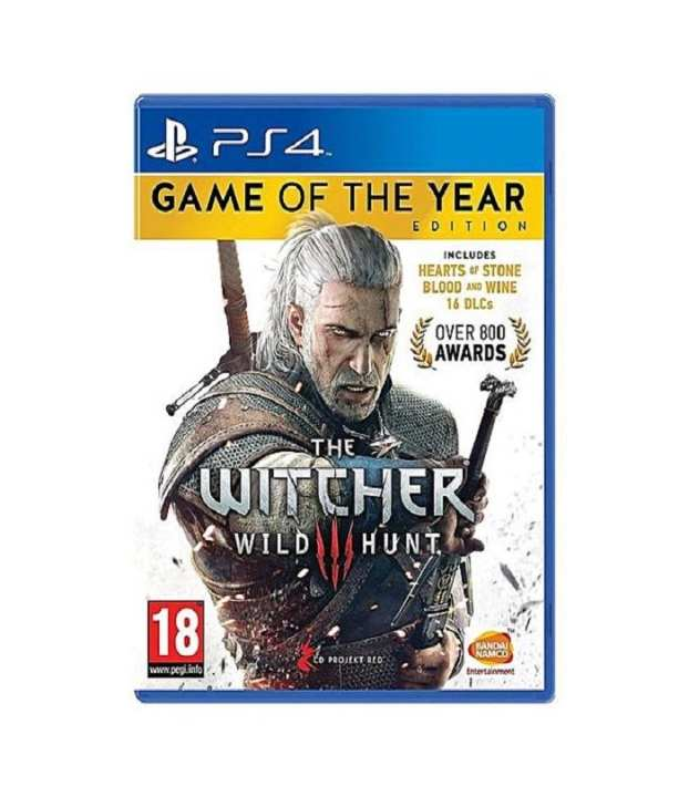 Play Station 4 Witcher 3 Game of the Year Edition