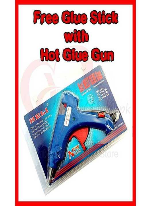 20w Brand New Hot Glue Gun Small - Blue