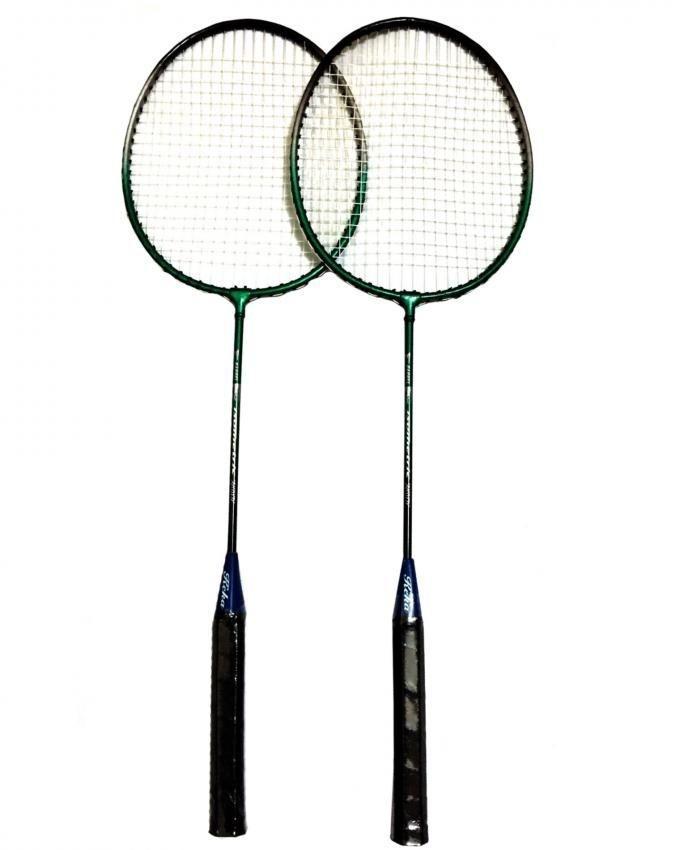 Pack of 2 - Badminton Rackets - Black