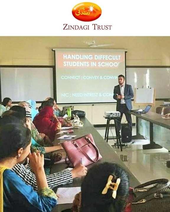 Sponsor Teacher Training & Development At Government Schools