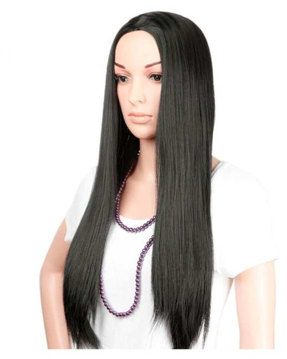 Natural Brown Hair Wig  - Full Head With Cap