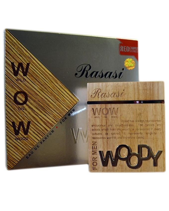 Rasasi Woody Perfume For Men - 60ml