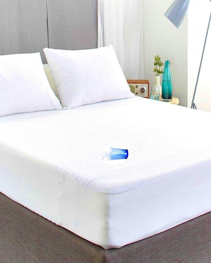Waterproof Double Bed Mattress Protector