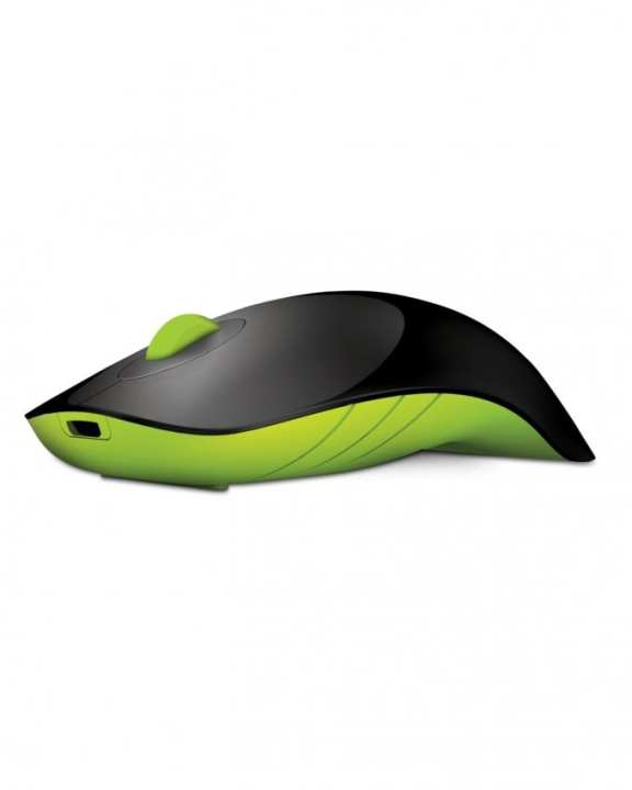 AirShark - Wireless Mouse - Black and Green