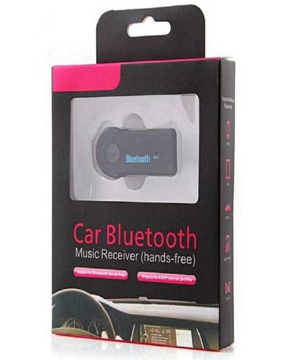 Black Car Bluetooth Music Receiver