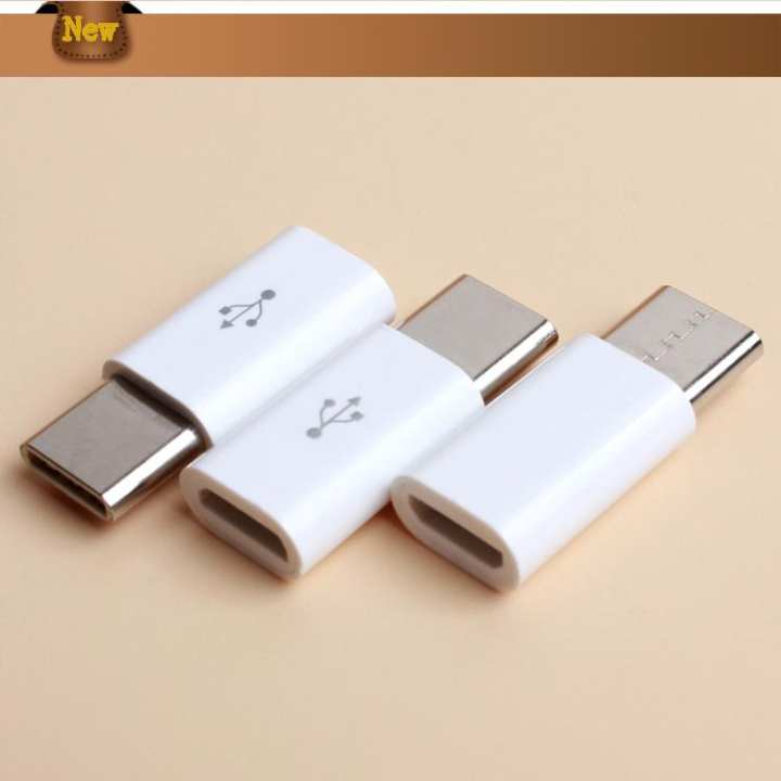 Pack of 2 Mobile Charger Pin Converter Micro USB to Type C (NC)