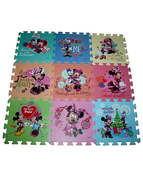 Mickey Puzzle - Foam Floor Mat - Multicolor