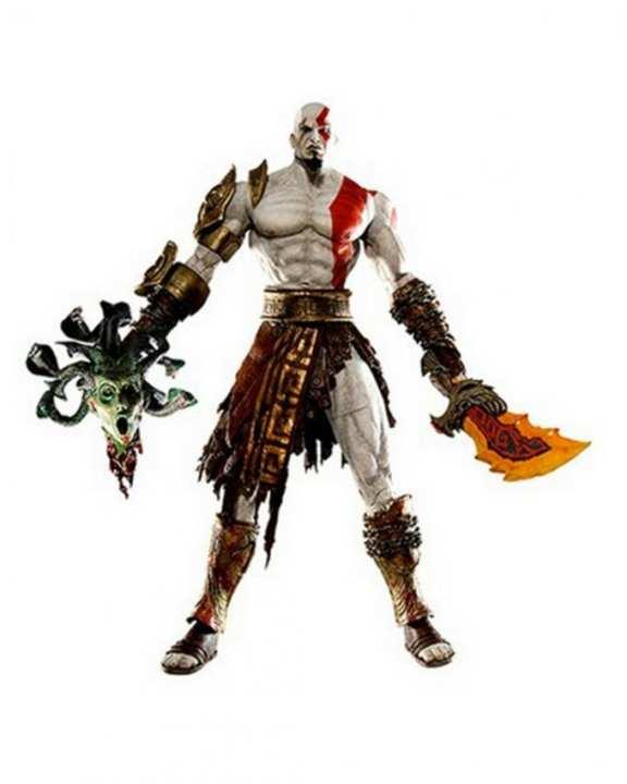 Action Figure Official God Of War - Golden Armor
