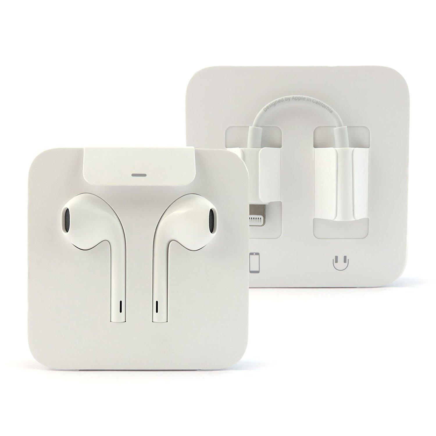 a6a9311a0ae Original Apple EarPods Handsfree with Lightning Connector for Iphone 7, 7s,  7+