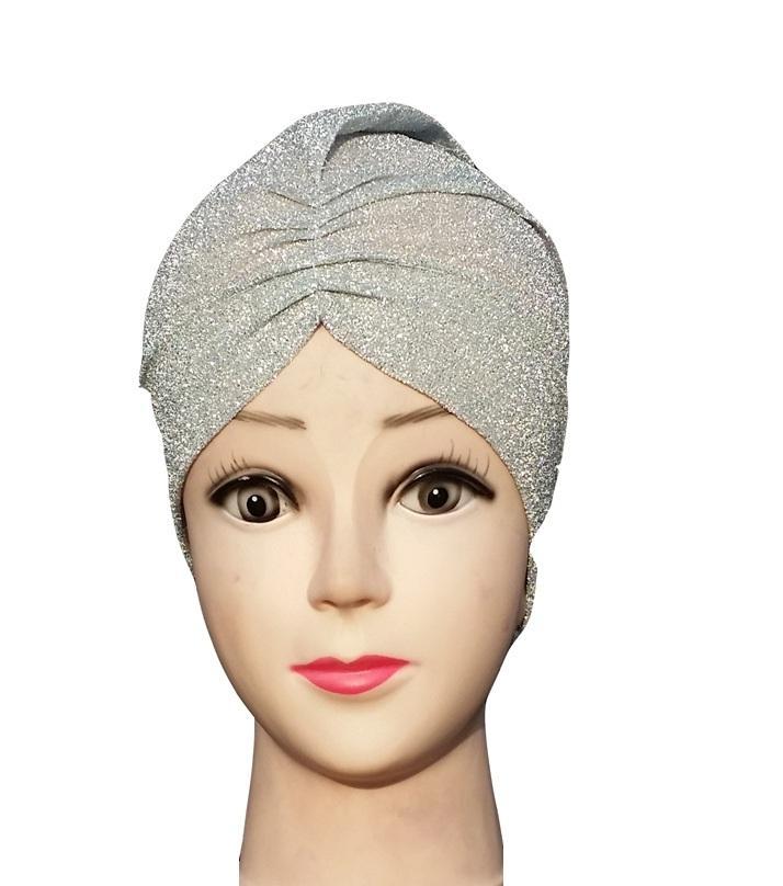4538c3ef94 Full Glitters Inner Hijab Scarf Cap For Women-White