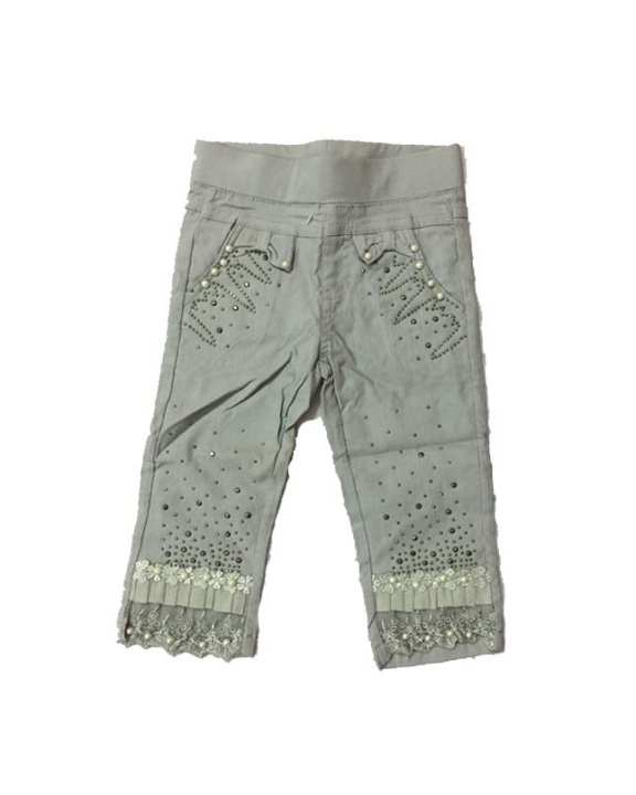 Grey Fancy Pant For Girls