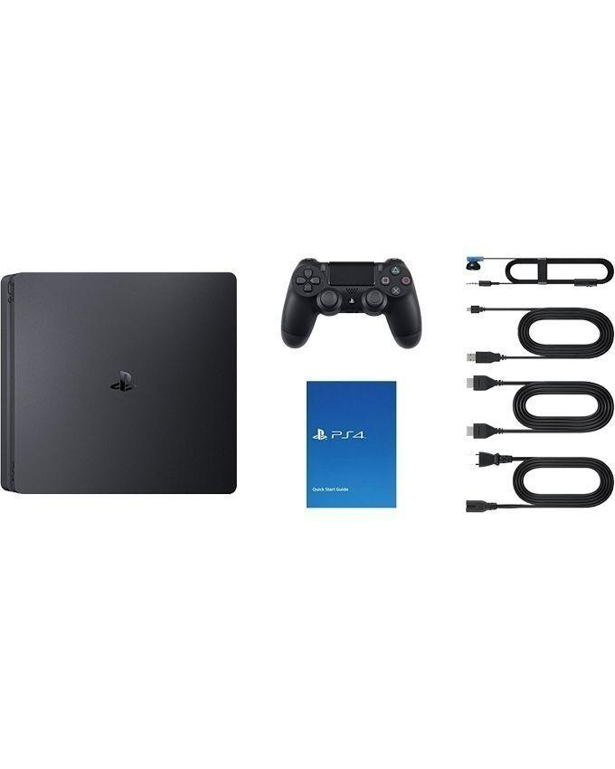 Bundle Offer - PS4 Slim - 500GB - Black & Watch Dogs Collection