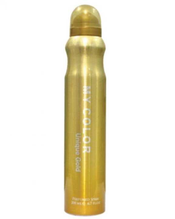 My Color - Unique Gold Perfume Spray - 200 ml