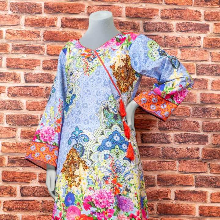 Eminent Digital Printed Khaddar Unstitched Winter Kurti - Arch by Chase Value Centre