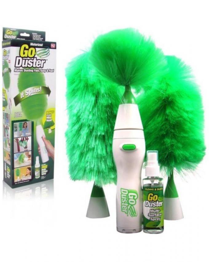 Go Duster - Green & White
