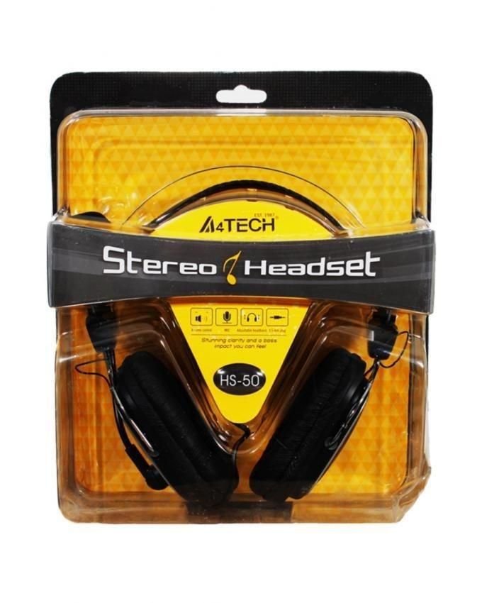 HS-50 - Stereo Headset - Black