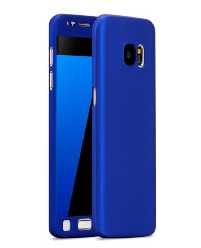 Samsung J2 Prime 360 Front And Back Cover With Glass Protector-Blue 7475ecb0247