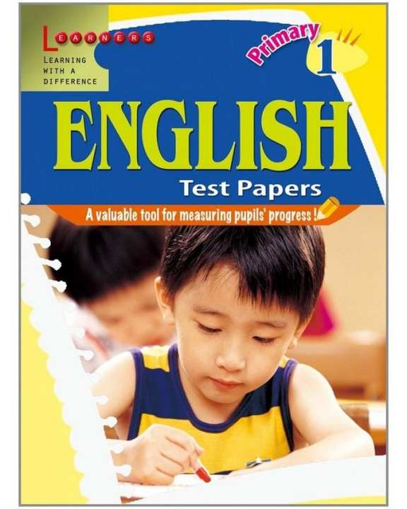Primary English Test Papers 1: A Valuable Tool For Measuring Pupils' Progress ! (Pb)