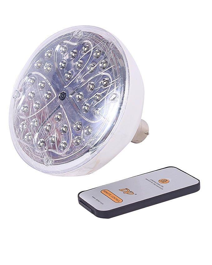 LED Dp -1791 - Rechargeable Emergency Light with Remote Control - White