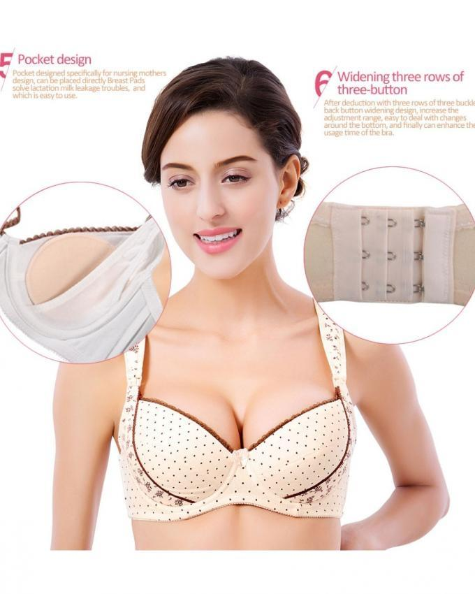 bedff781ca9ef Peach Pregnant Women Front Closure Thin Padded Comfortable Push Up Bra  Buy  Sell Online   Best Prices in Pakistan