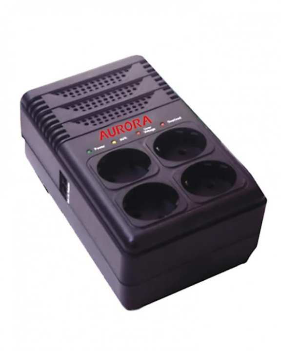 AVR-600/600W - Automatic Voltage Regulator - Black
