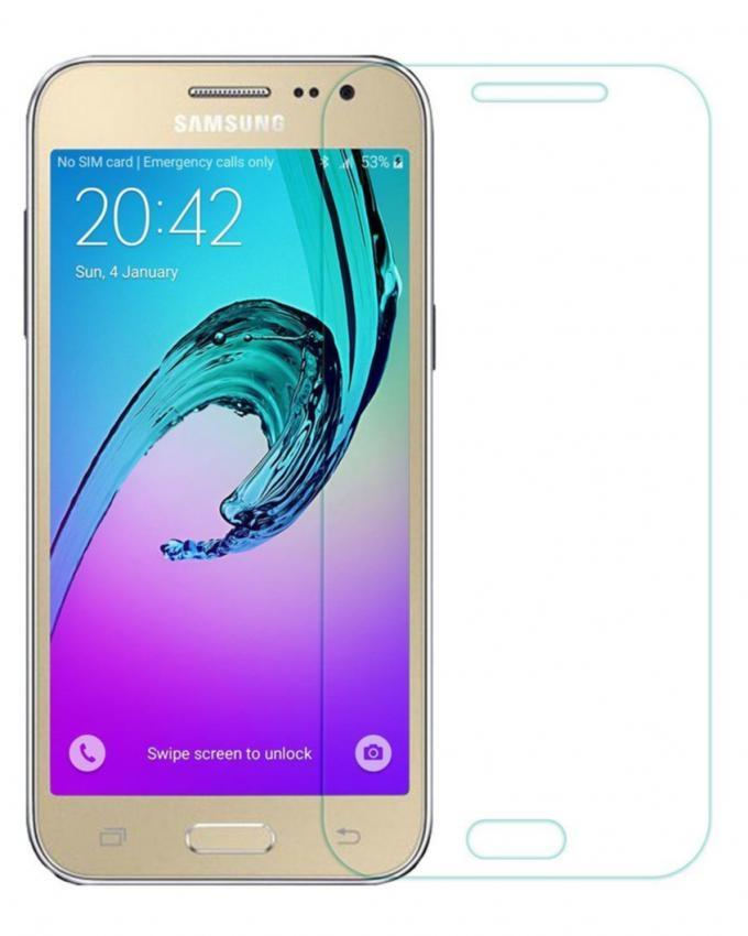 Tempered Glass Protector For Samsung C5 - Transparent