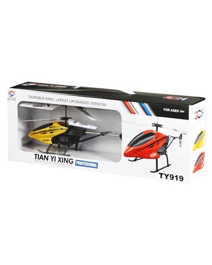 TY919 - 2 Channel Remote Helicopter - Yellow