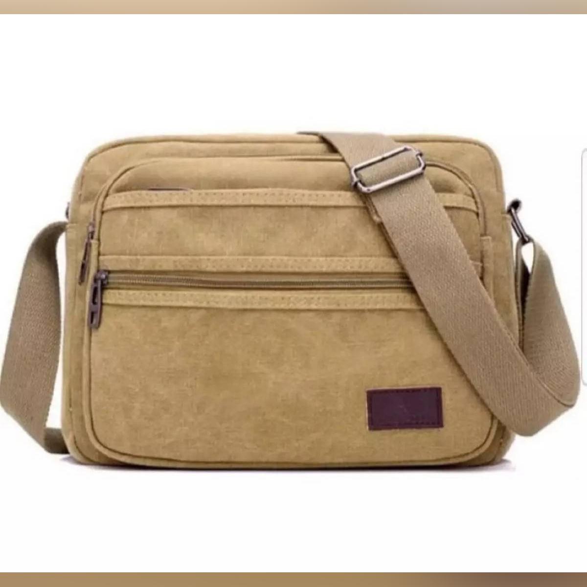 Man's Messenger Bag Men/Womes Shoulder PU Leather Chest Bags Crossbody Business