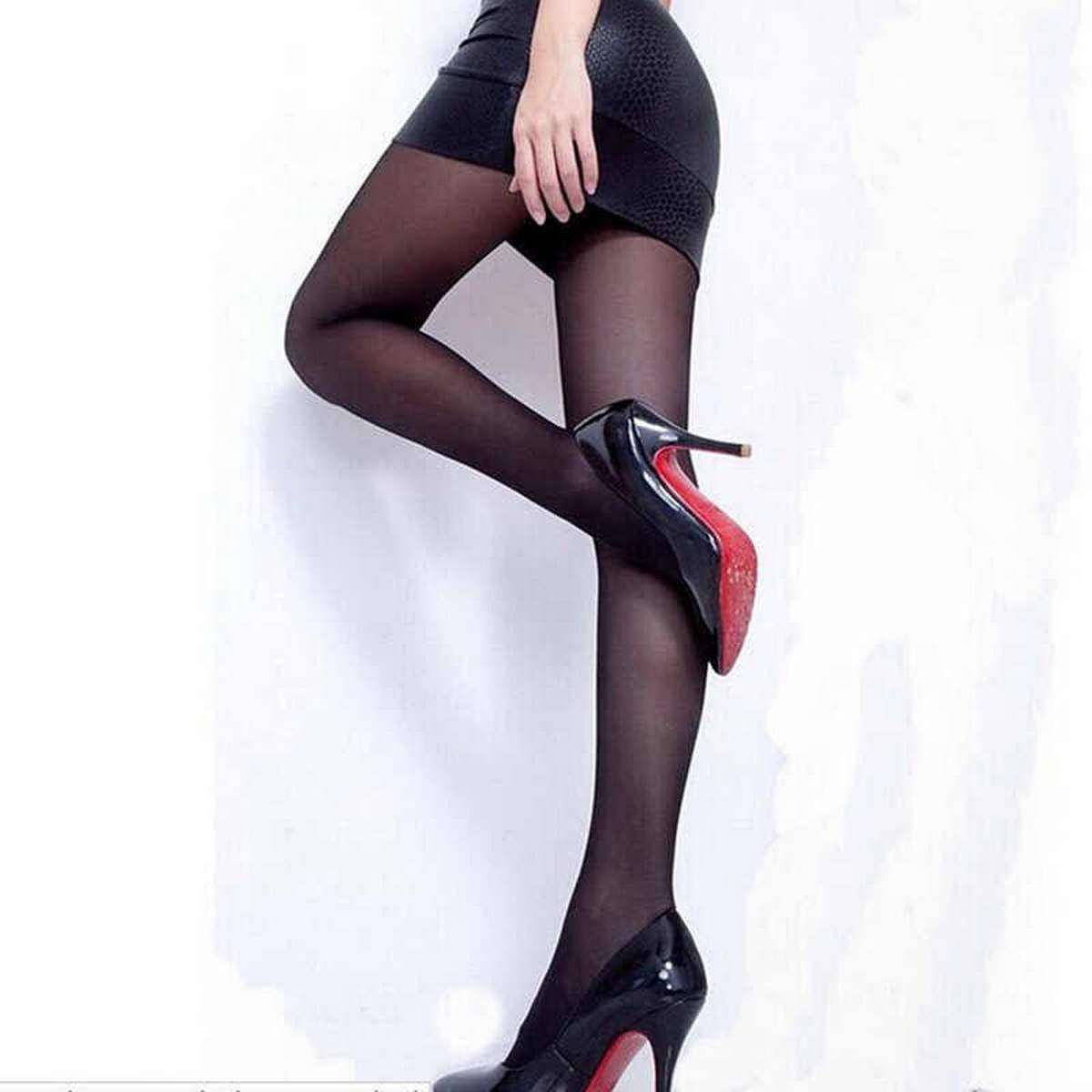Female Lady Girl Top Thigh High Full Leg Body Stocking Long Tights
