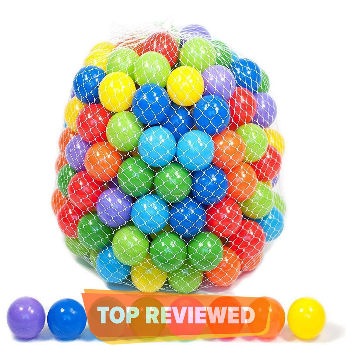 Soft Plastic Balls 20 Pcs Set - Multicolor