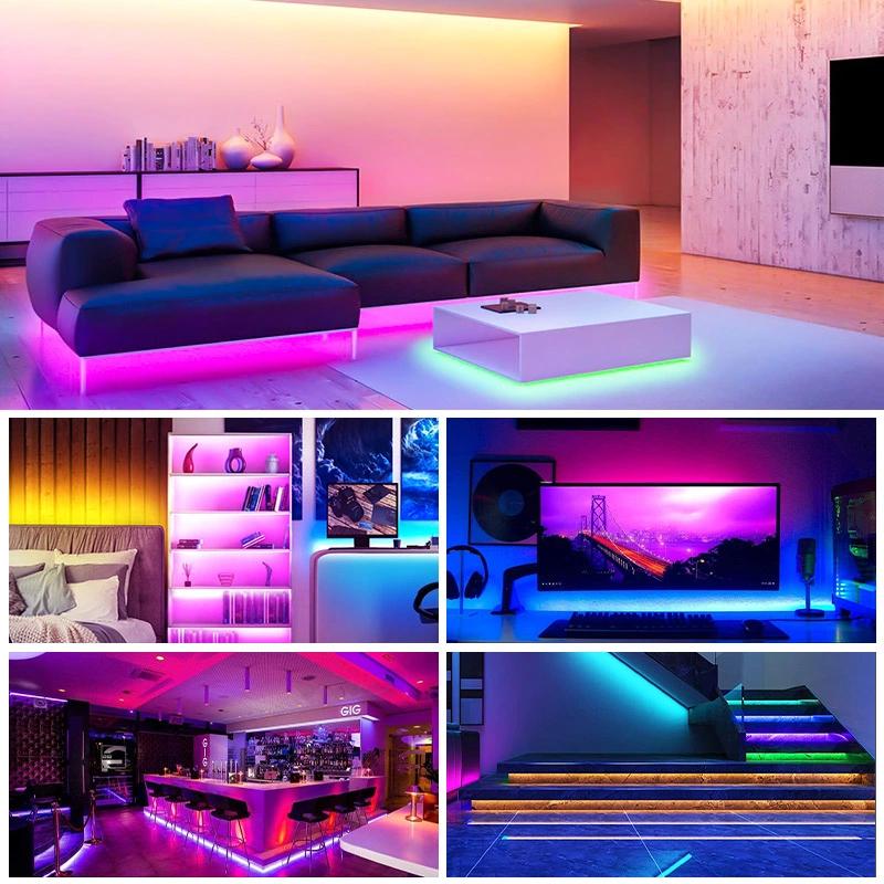 RGB - RGB Led Strip - Rgb Waterproof Remote Control Color Changing Led Strip Lights - RGB Disco lights - RGB Gaming lights