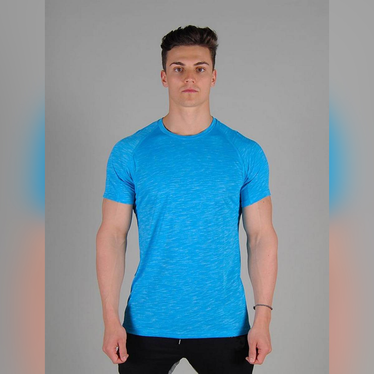 Gym Workout Shirts for Boys Casual T Shirts - Long Sleeves T Shirts for Men