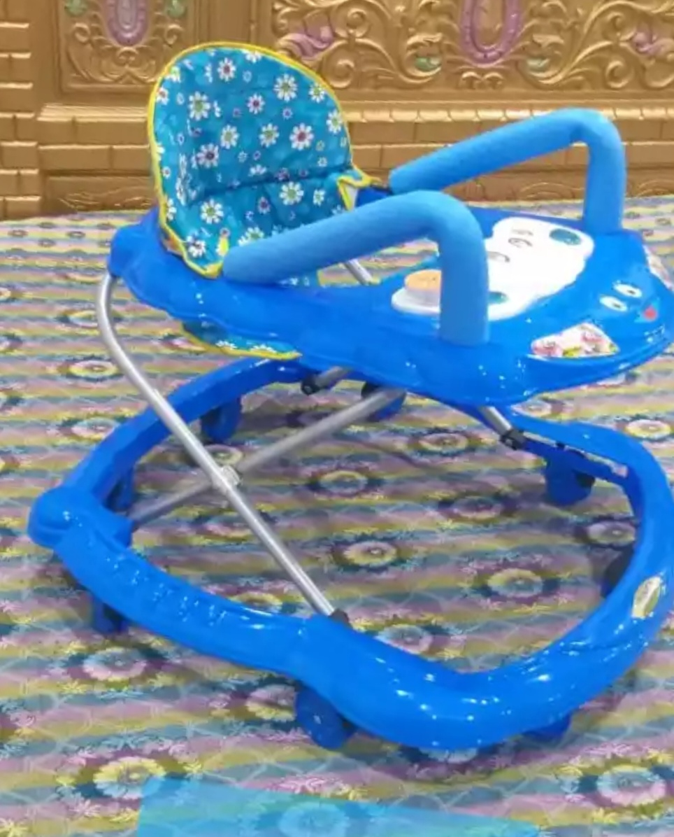 Baby Walker With Light Music Supportable Shoulder