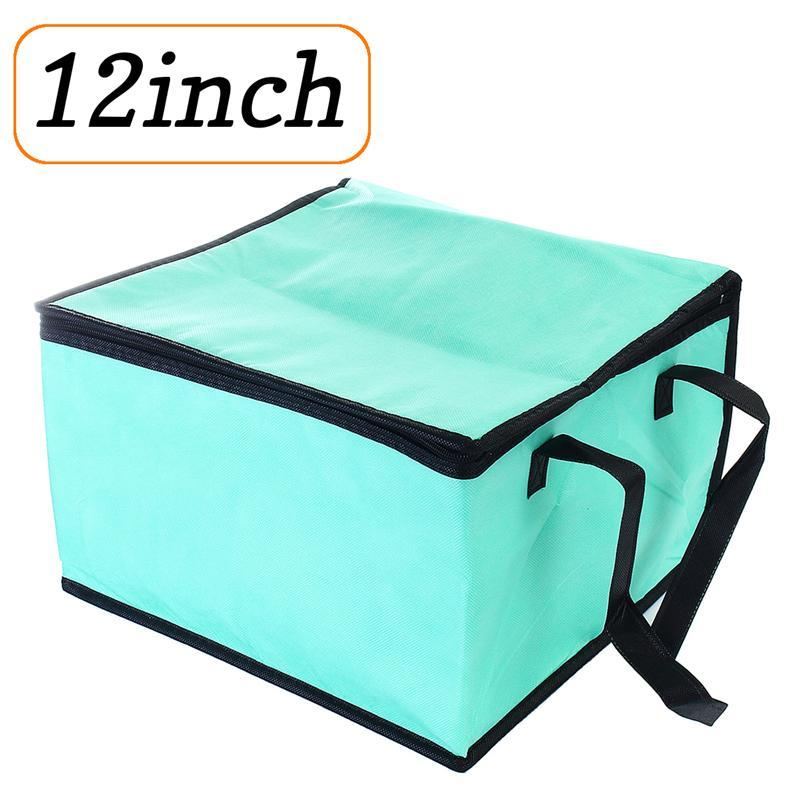 12 Inch Cake Fresh Keeping Tote Bag With Zipper Non-woven Lunch Bag Picnic Bag Candy & Cake Bags Reusable Grocery Bag Collapsible