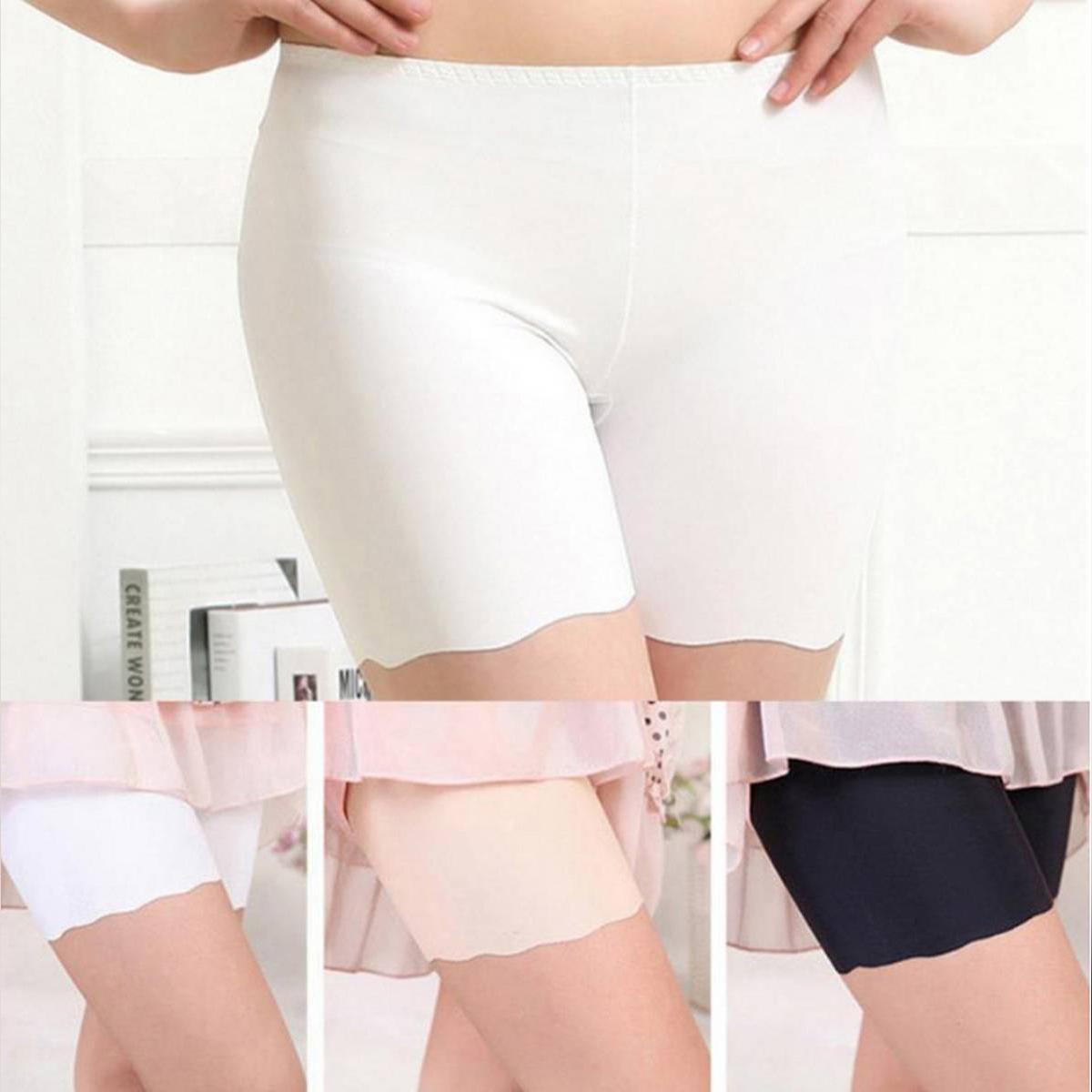 Pack Of 2 - Seamless Slimming Shorts Nylon Underwear