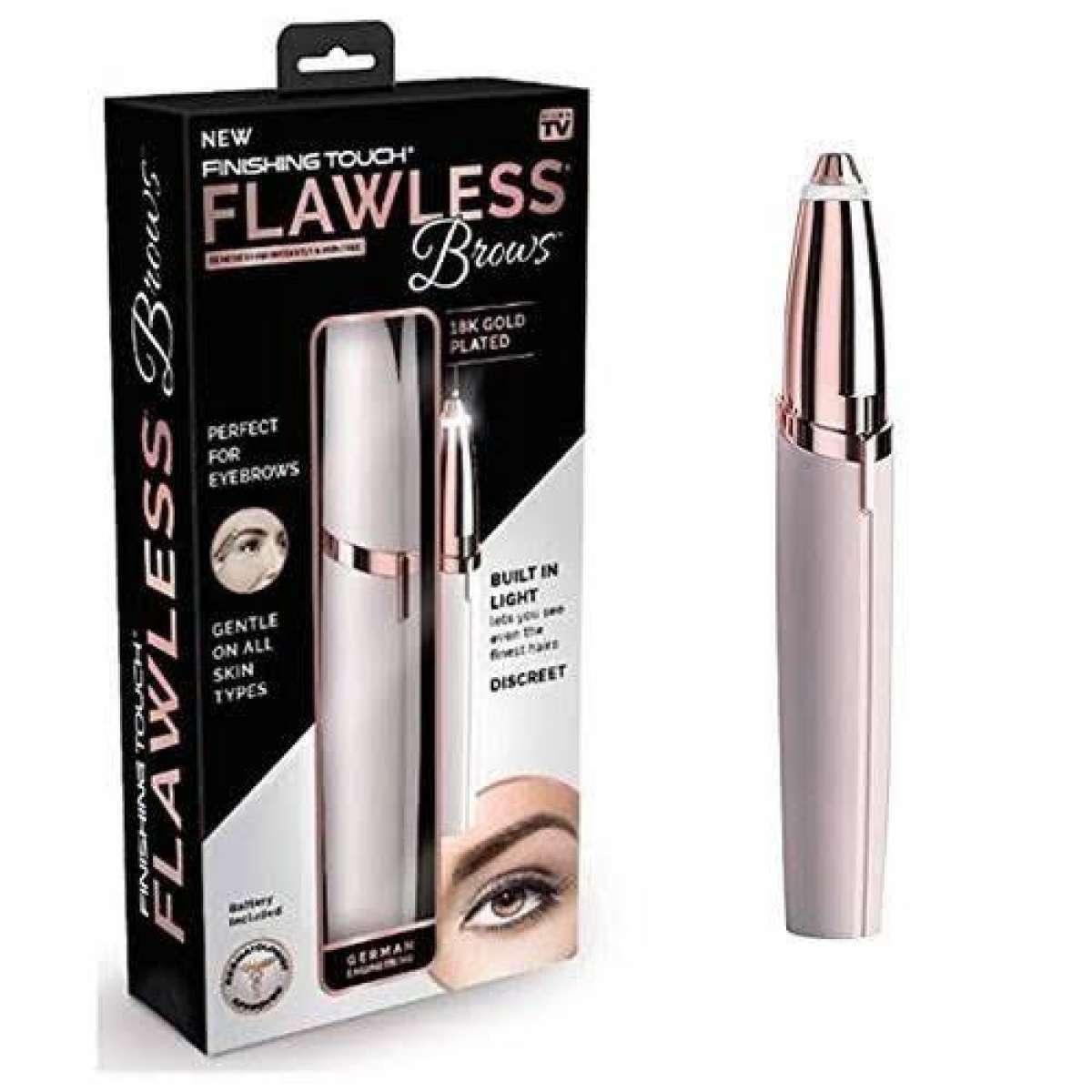 Finishing Touch Flawless Brows Eyebrow Hair Remover With 18k Gold Plated Buy Online At Best Prices In Pakistan Daraz Pk