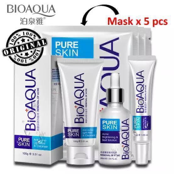 BIOAQUA 6 Pcs Acne Face Care Set