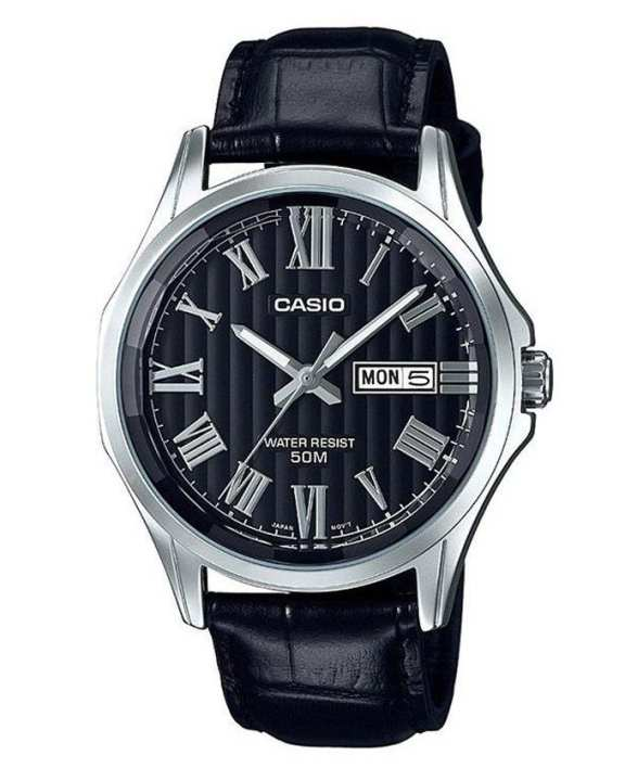 Casio - MTP-E131LY-1AVDF - Stainless Steel Watch for Men