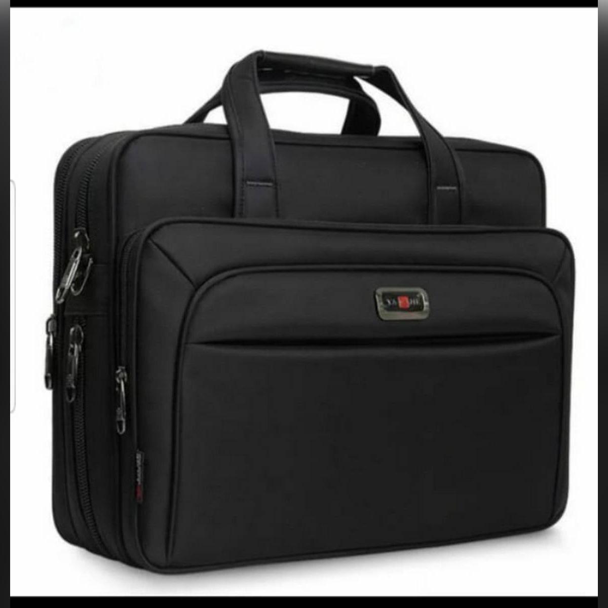 Large Capacity Men Single Shoulder Bag 16 Inches Travel Bag Men's casual fashion Handbags Business Briefcase Laptop Bag