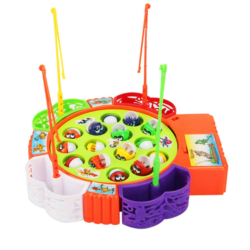 Fishing Game For Kids - 15 Fish Multicolors