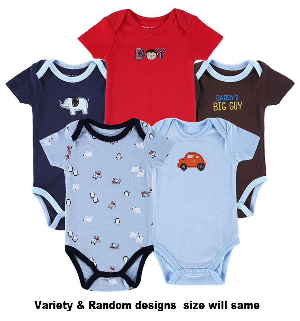BABA ROMPER EXPORT QUALITY  pack of 5