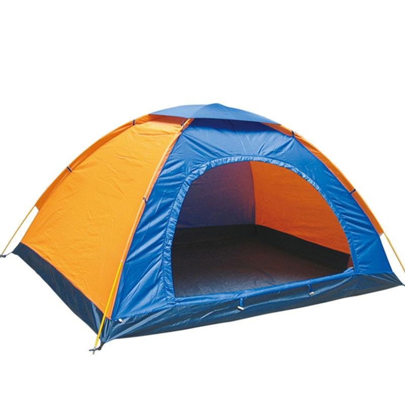 Outdoor Parachute Camping Tent - Travelling Hiking - Water Resistant - Random Color